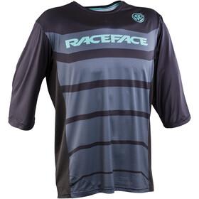 Race Face Indy 3/4 Sleeve Jersey Herre black